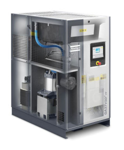 Refrigerant dryer and interior of rotary screw compressors